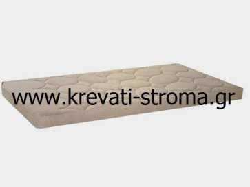 Ανώστρωμα-επίστρωμα ημίδιπλο,110 διάσταση για κρεβάτι πάνω από το στρώμα αφρώδες foam 7 πόντων