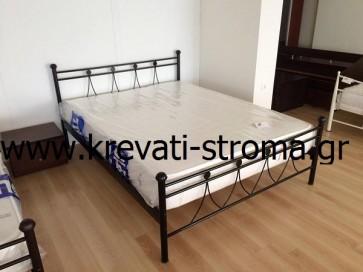 Κρεβάτι σίδερο-μέταλλο διπλό για στρώμα 140χ190 και υπέρδιπλο για στρώμα 150χ200