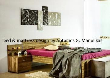 Κρεβάτι διπλό σε τιμή προσφοράς