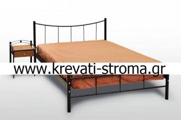 Κρεβάτι κομπλέ με στρώμα και τάβλες (μονό,ημίδιπλο,διπλό) στην καλύτερη τιμή προσφοράς (ετοιμοπαράδοτο)