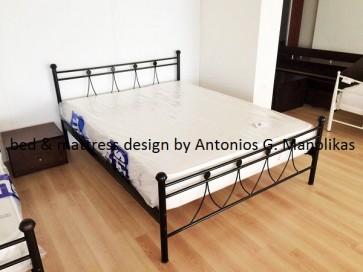Κρεβάτι μεταλλικό-σιδερένιο διπλό-υπέρδιπλο