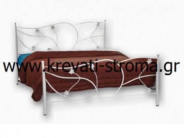 Κρεβάτι ρομαντικό διπλό σίδερο-μέταλλο