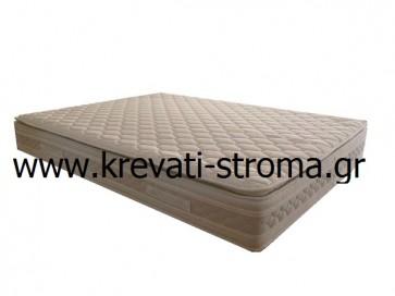 Στρώμα μονό 0.90 διάσταση,ορθοπεδικό με συνδεδεμένα ελατήρια,ανώστρωμα και σύστημα αερισμού