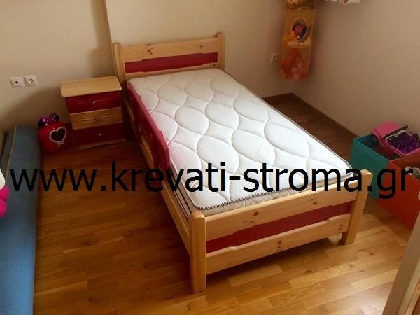 6658657e1b9 Κρεβάτι μονό παιδικό με συρτάρια · Zoom