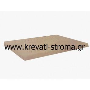 Ανώστρωμα-επίστρωμα latex διπλό,150Χ200 διάσταση για κρεβάτι πάνω από το στρώμα latex 7 πόντων