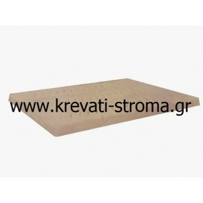 Ανώστρωμα-επίστρωμα latex διπλό,160Χ200 διάσταση για κρεβάτι πάνω από το στρώμα latex 7 πόντων