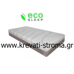 Στρώμα eco sleep edge ανατομικό,pocket για κρεβάτι ημίδιπλο σε διάσταση 110χ190 σε τιμή προσφοράς