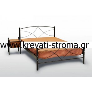 Κρεβάτι φτηνό-οικονομικό σε χαμηλή τιμή προσφοράς,ετοιμοπαράδοτο από σίδερο-μέταλλο