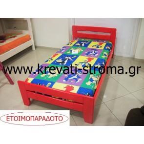Κρεβάτι για παιδιά από ξύλο πεύκου