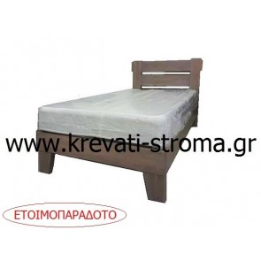Κρεβάτι από οικολογικό μασίφ ξύλο πεύκο σε διαστάσεις μονό (090 στρώμα),ημίδιπλο (110 στρώμα) με βαφή οικολογική νερού (νερόχρωμα) για γονείς που ψάχνουν το καλύτερο για τα παιδιά τους
