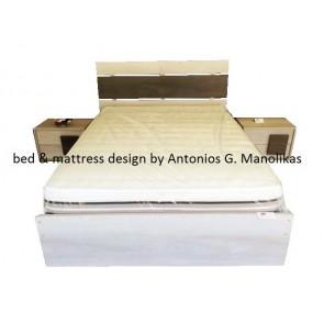 Κρεβατοκάμαρα σετ μοντέρνα ξύλινη