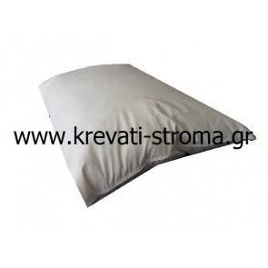 Μαξιλάρι ύπνου για στρώμα-κρεβάτι με πούπουλο,ανατομικό,υποαλλεργικό και πλενόμενο