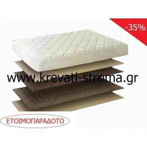 Στρώμα μονό σε διάσταση 0,90 φθηνό-οικονομικό και ετοιμοπαράδοτο