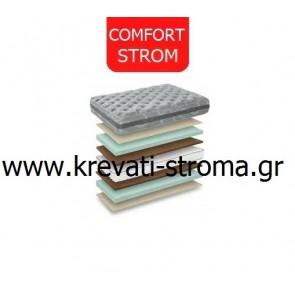 Στρώμα comfort strom melagnia με ελατήρια Bonnel 090x190 ή 090x200.Δωρεάν μεταφορά,επίστρωμα και μαξιλάρι