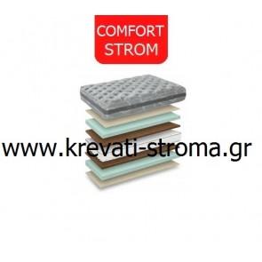 Στρώμα comfort strom sono μνήμης με memory foam για διάσταση 090χ190 ή 090χ200