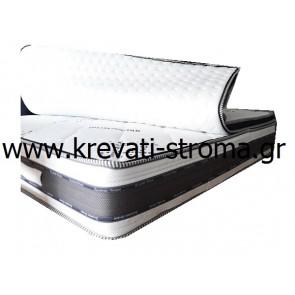 Στρώμα ορθοπεδικό διπλό 1,50x2,00 μέτρα 30 πόντους ύψος (παχύ) με ανώστρωμα με φερμουάρ για να μεταφέρεται σε όποιο κρεβάτι επιθυμείτε.ΕΤΟΙΜΟΠΑΡΑΔΟΤΟ